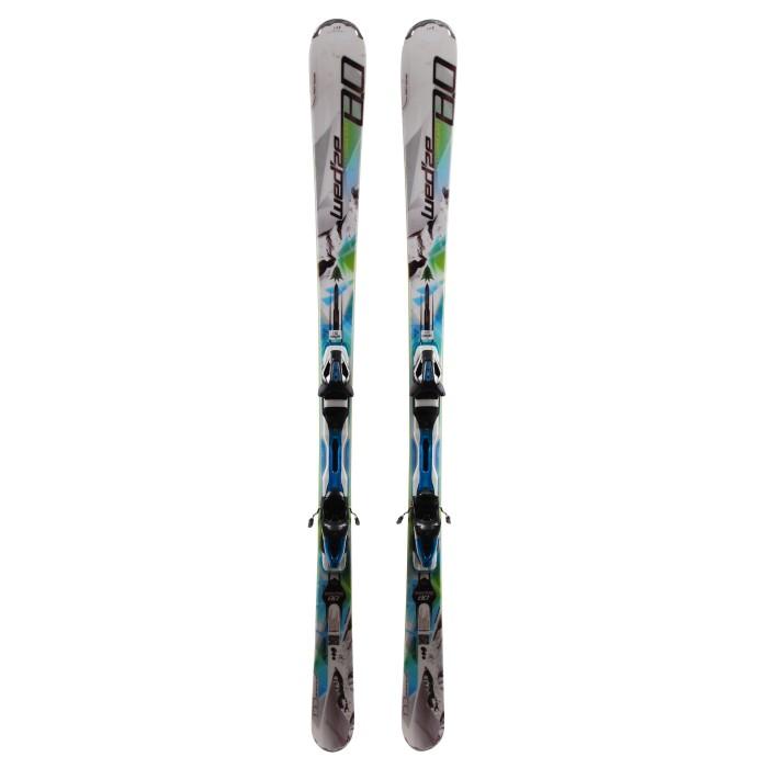 Ski occasion Wedze Crosslander 8.0 - bindings