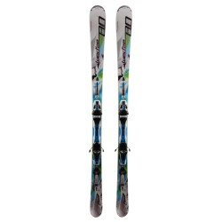 Used ski Wedze Crosslander 8.0 white green 2nd choice + bindings
