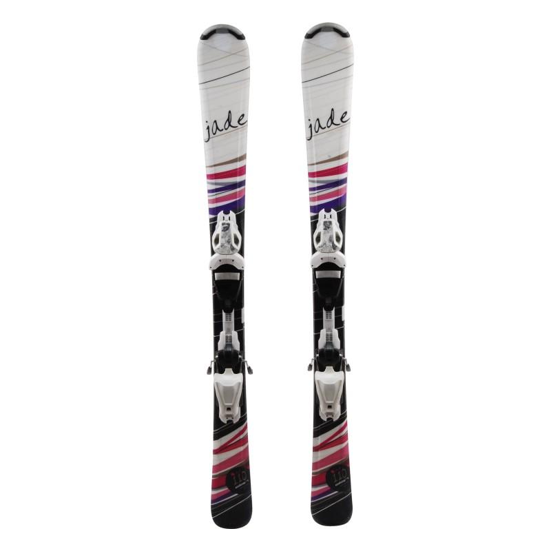 Junior Ski Elan Exar Pro Multicolor + fijaciones