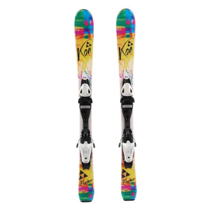 Ski occasion Junior Fischer Koa + fixations