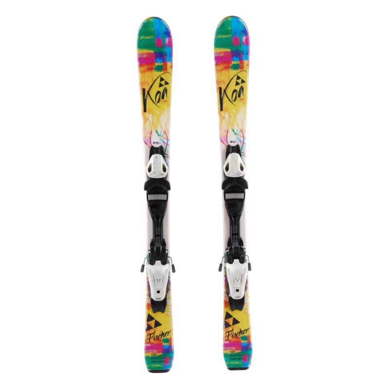 Ski occasion Junior Fischer Koa Qualité A + fixations