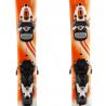 Junior Rossignol Kidi die orangene Snowboard + Bindung