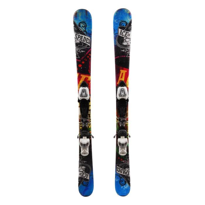 Ocasión de esquí junior Nordica Ace de picas - fijaciones