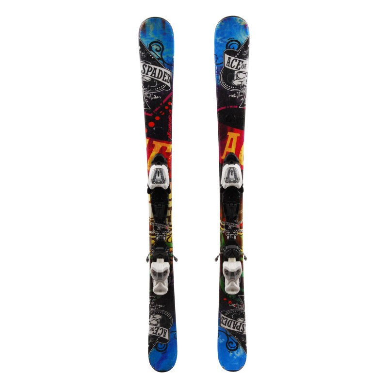 Ski occasion junior Nordica Ace of Spades Qualité A + fixations