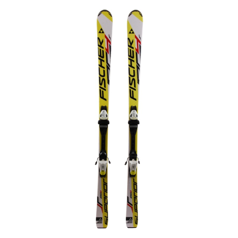 Ski occasion junior Fischer Superior RC4 + fixations Qualité A