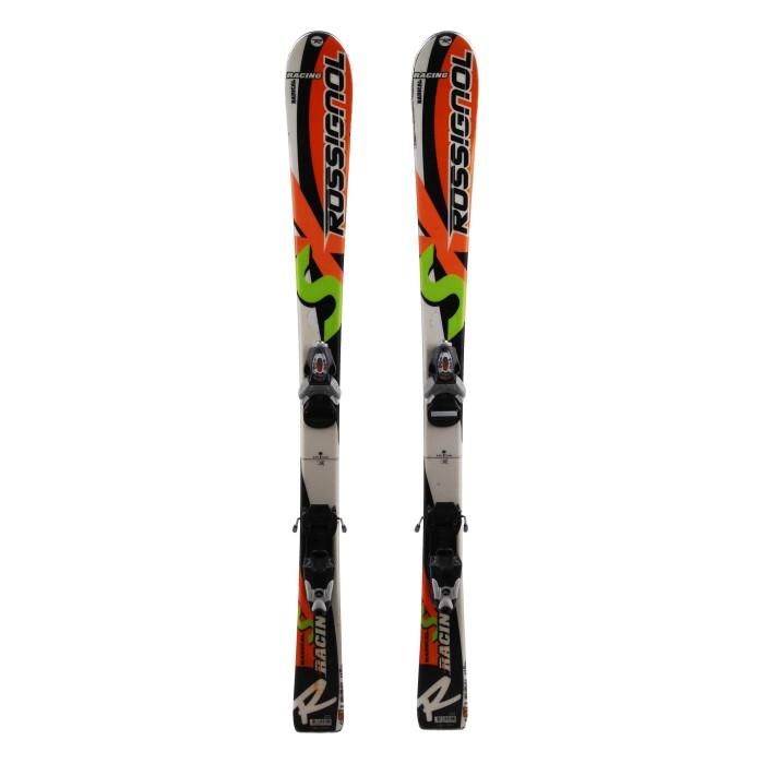 Ocasión de esquí junior Rossignol Radical SX Racing - fijaciones