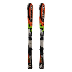 Ski occasion junior Rossignol Radical SX Racing + fixations