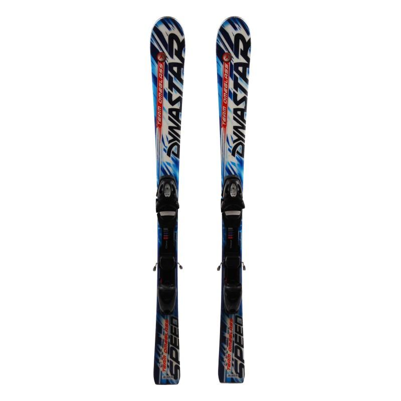 Ski occasion junior Dynastar Speed Team Omeglass + fixations Qualité A