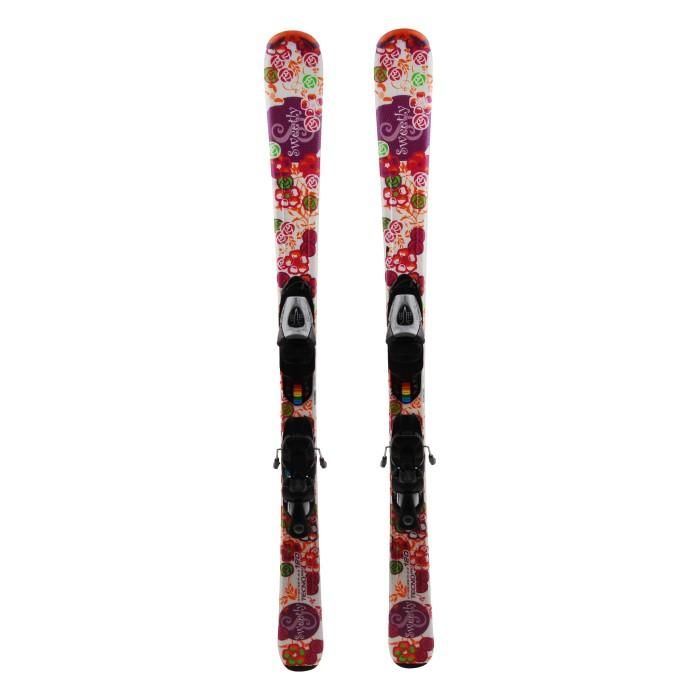 Ocasión de esquí junior Techno pro Sweetly - fijaciones