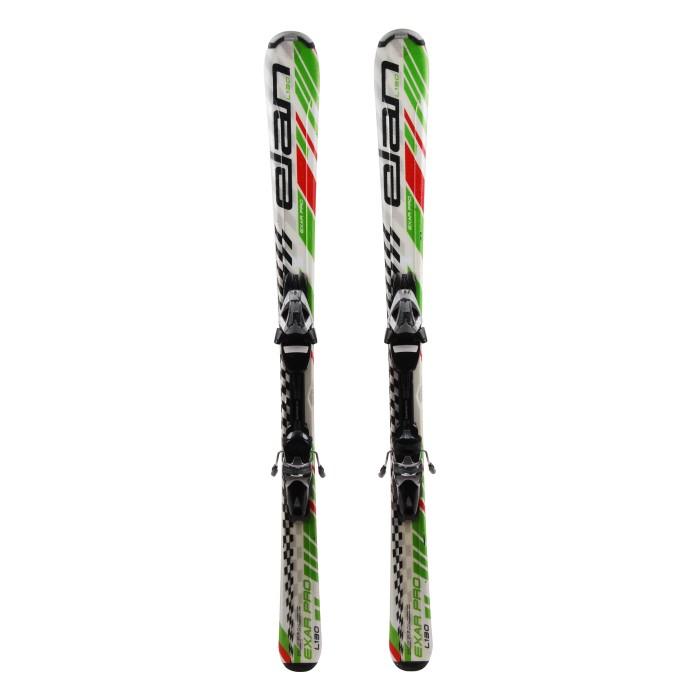 Olas junior de la ocasión de esquí Elan Exar pro '
