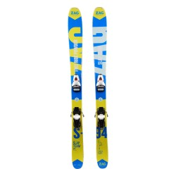 Ski occasion junior ZAG Slap Team 94 - bindings