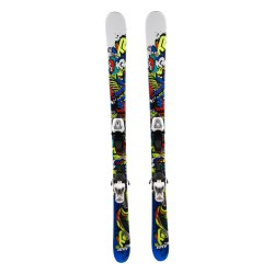 Ski occasion junior K2 JUVY peace 1er choix + fixations