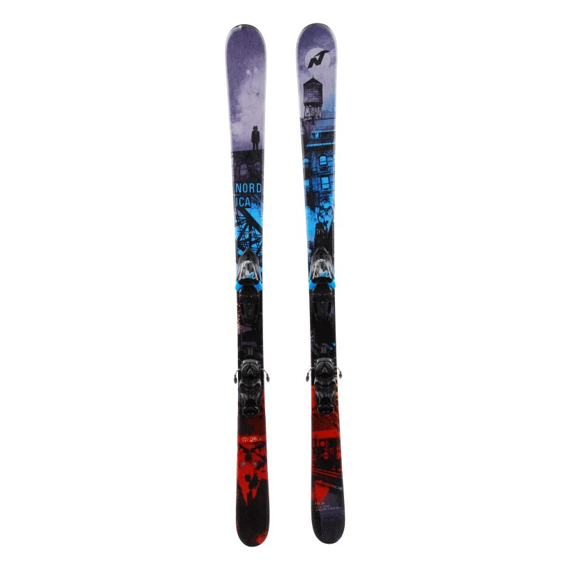 Nordica Ace of Spades junior ski + bindings