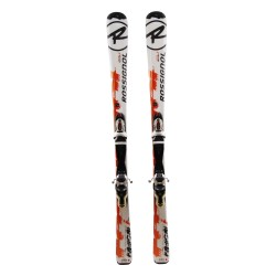 Ski occasion junior Rossignol radical J + fixations