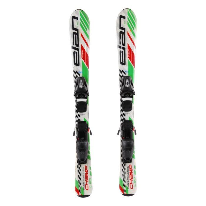 Junior ski Elan LiL Magic White heart 2nd choice + bindings