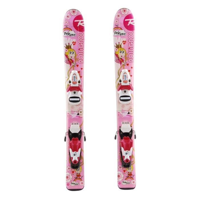 Junior ski Rossignol princess fairy + bindings