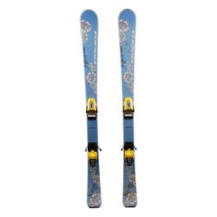 Junior Ski Stockli Rotor Junior Blue / Yellow + bindings