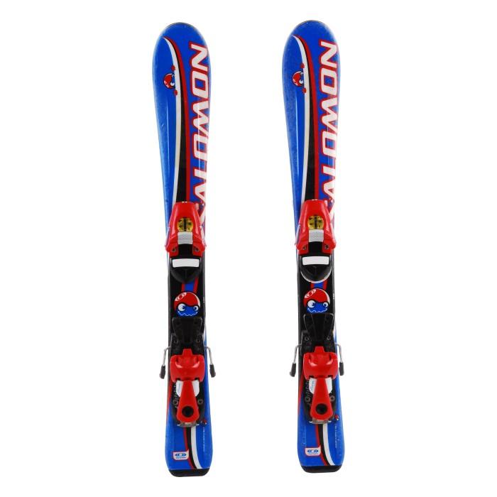 Ski junior occasion Salomon Max Rider - bindings