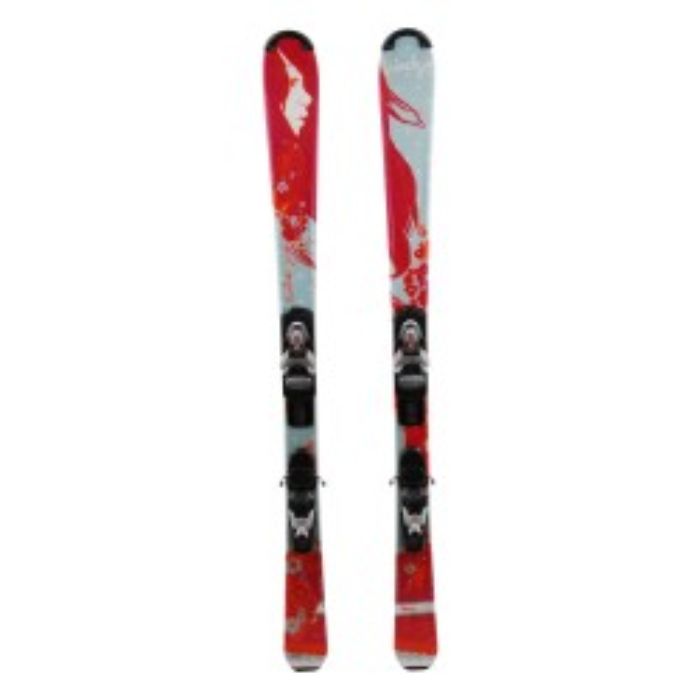 Junior Ski Wedze Starliner Pink + bindings