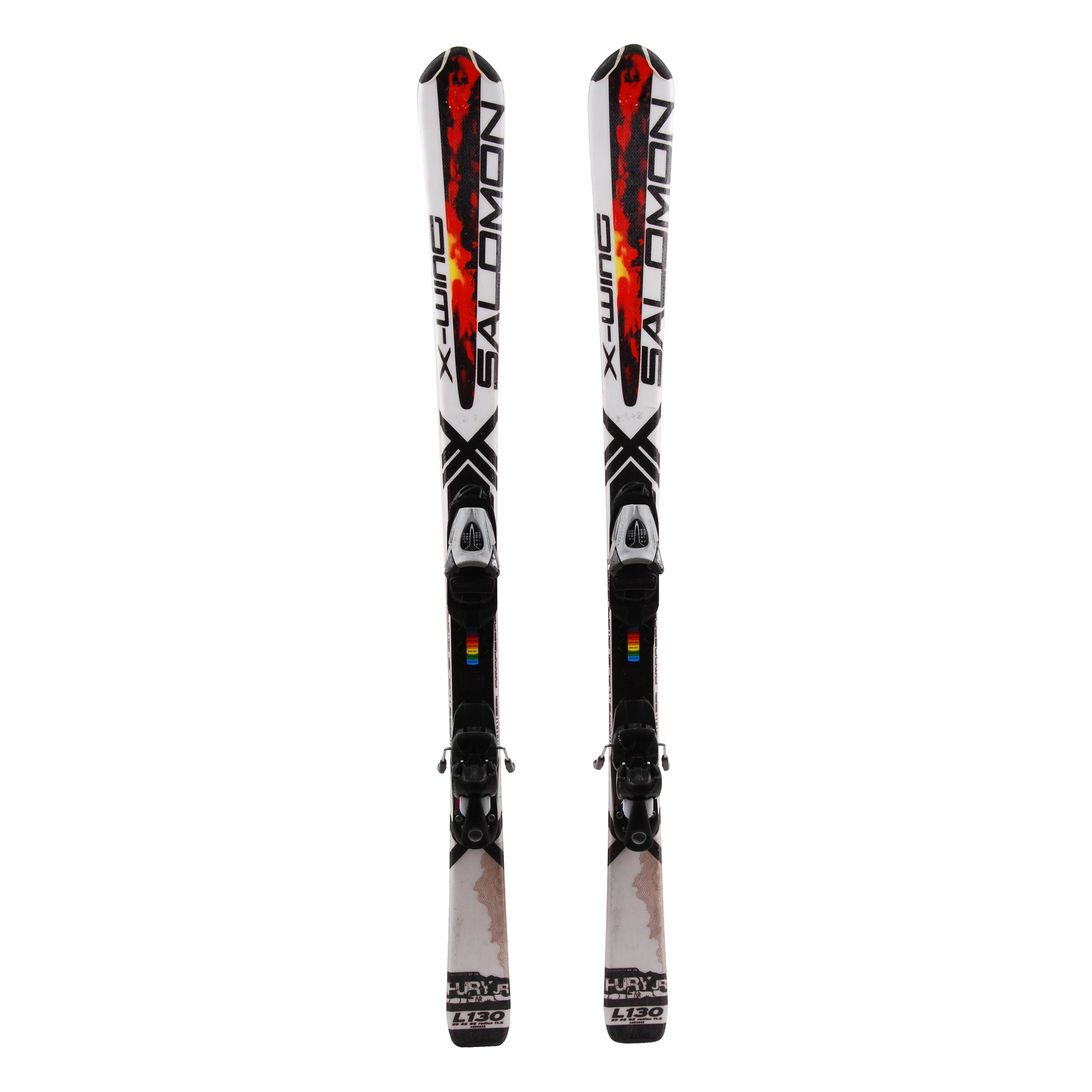 Détails sur Ski occasion junior Salomon X Wing Fury + fixations