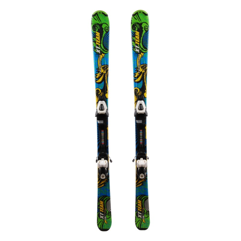 Ski occasion junior Tecno pro XT team Qualité A + fixations