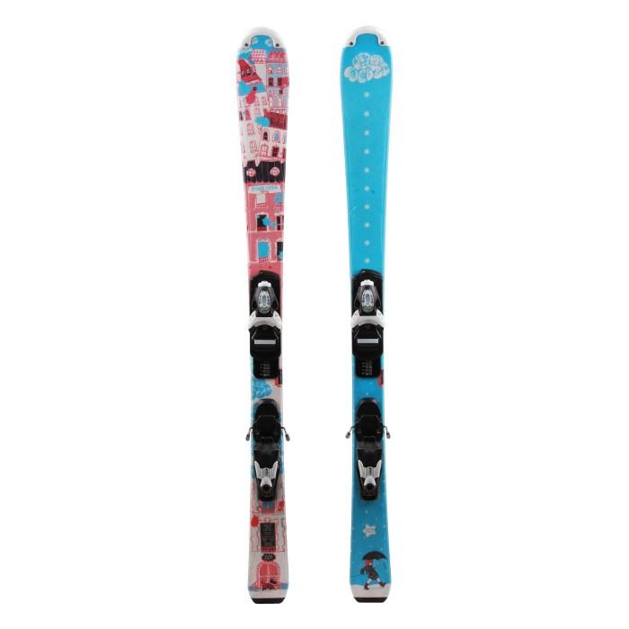 Ocasión de esquí Junior Wedze Starliner Miny - fijaciones