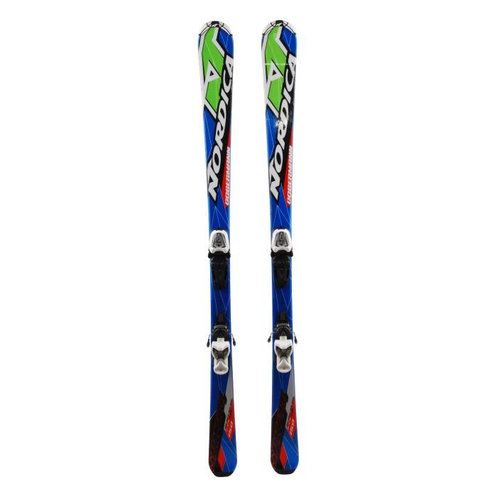 Ocasión de esquí Junior Nordica Dobermann Spitfire - fijaciones