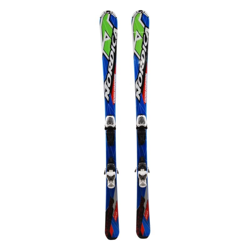 Ski occasion Junior Nordica Dobermann Spitfire Qualité A + fixations