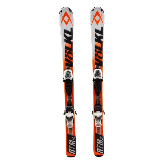Ski occasion junior Volkl RTM JR + fixations