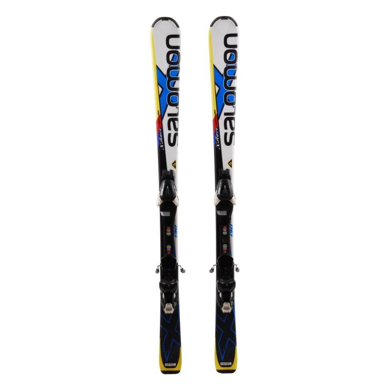 Ski Anlass Junior Salomon XRACE Carve rocker - Bindungen
