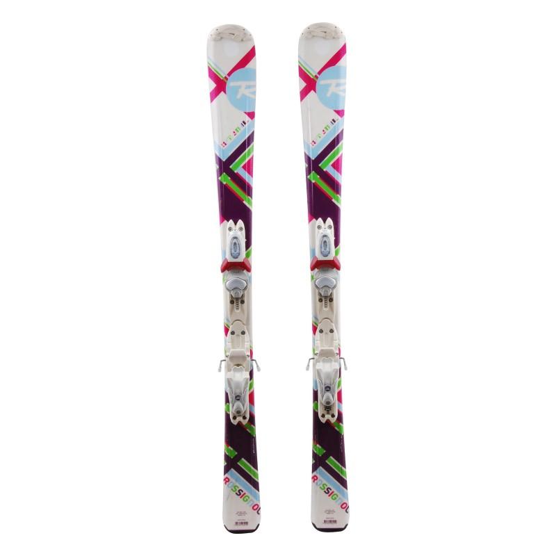 Ocasión de esquí junior Rossignol diversión Chica ' fijaciones
