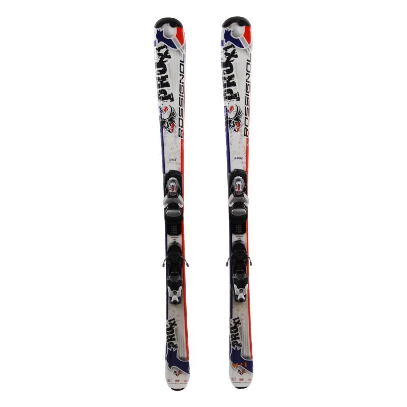 Ski occasion junior Rossignol Pro x1 Qualité A + Fixations