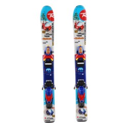 Ski occasion junior Rossignol Robot Cars - bindings