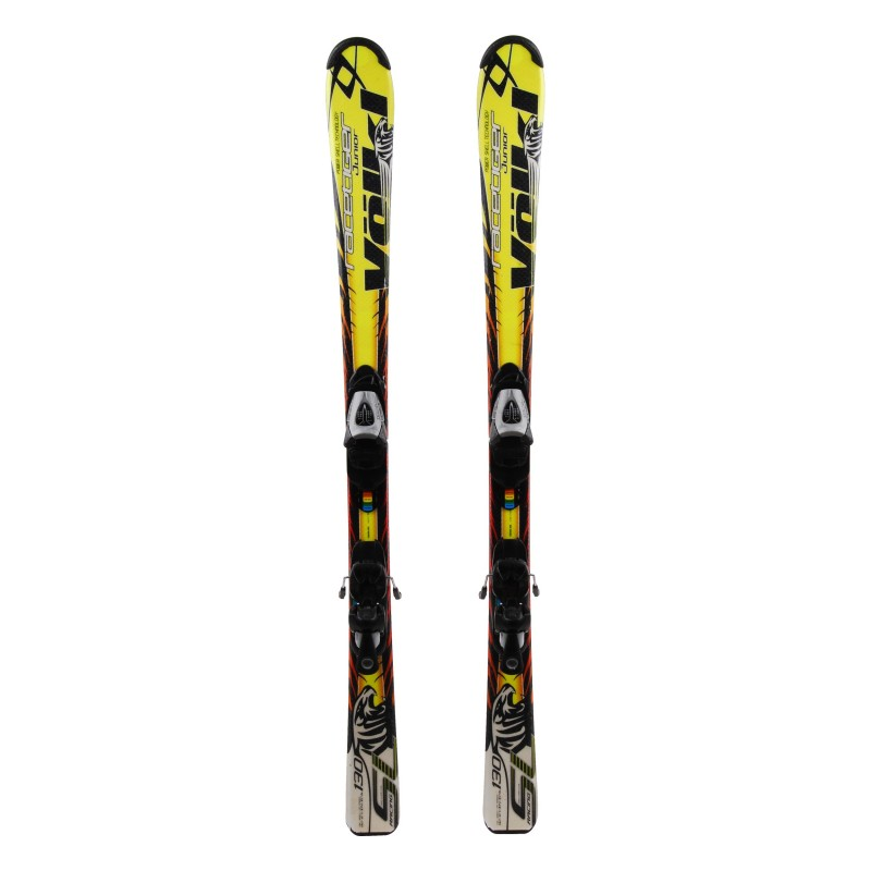 Ski occasion junior Volkl Racetiger SL griffe Qualité A + fixations