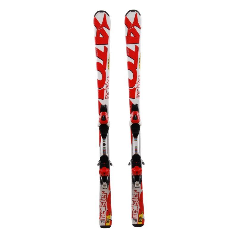 Ski occasion junior Atomic Redster Qualité A + Fixations