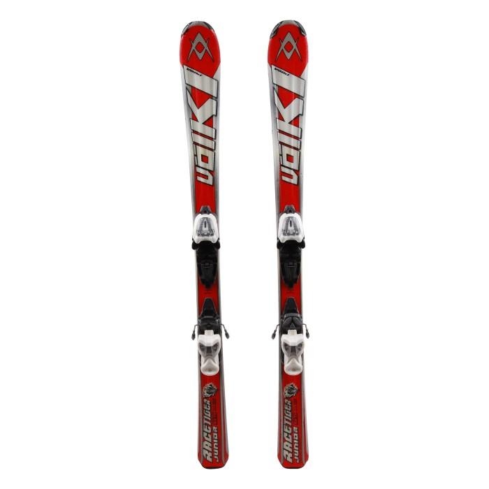 Ocasión de esquí junior Volkl racetiger GS - fijaciones