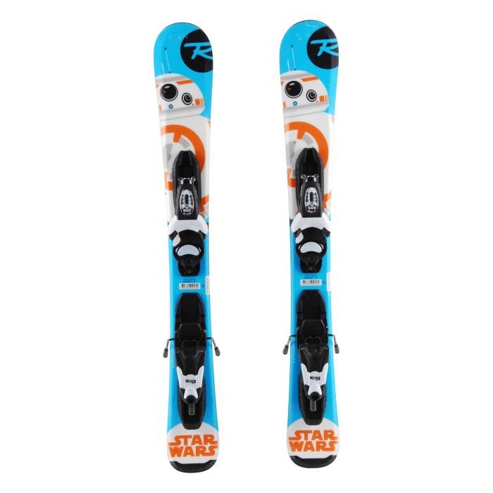 Ski occasion junior Rossignol Star Wars Baby + fixations