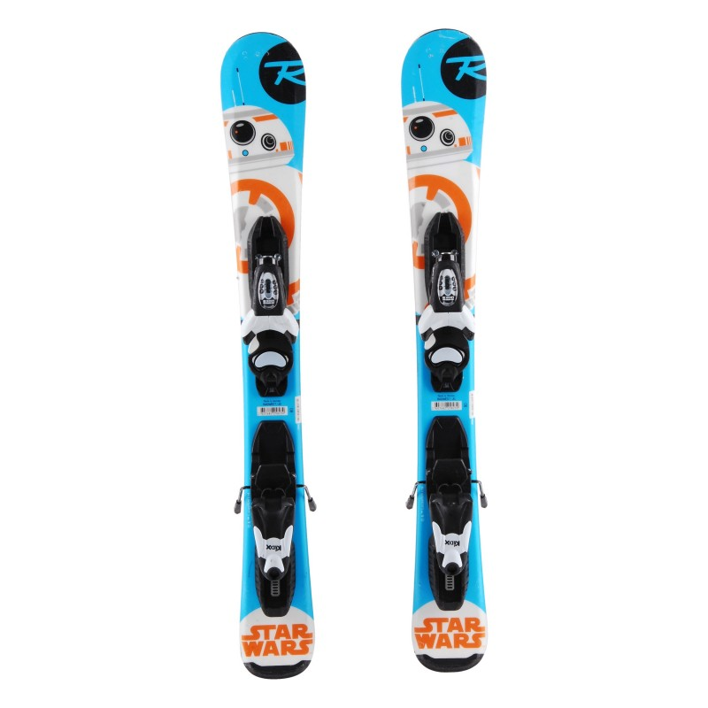 Ski occasion junior Rossignol Star Wars Baby Qualité A + fixations