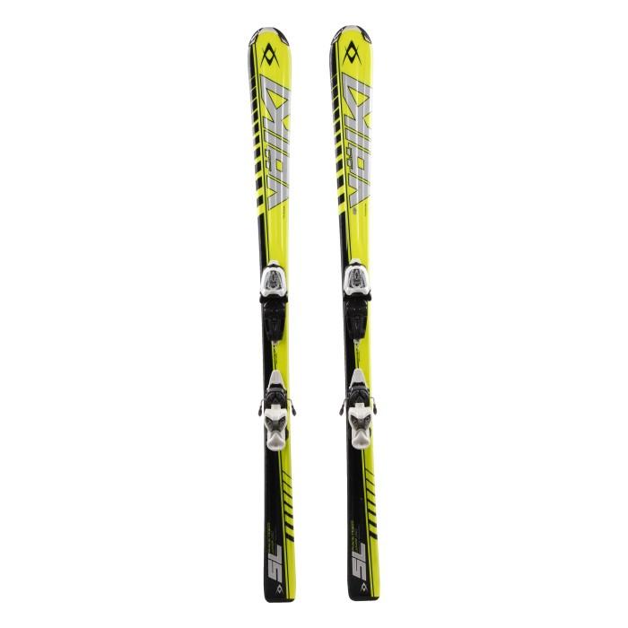 Ski occasion junior Volkl racetiger SL woodcore + fixations