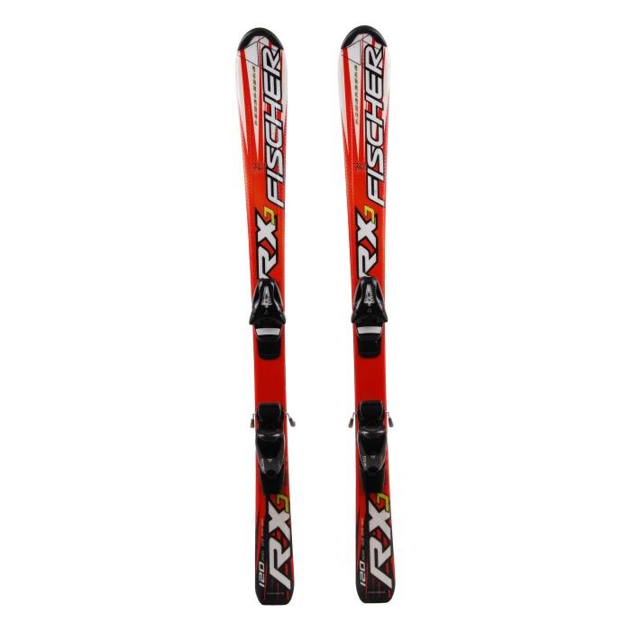 Ski occasion junior Fischer RXJ + fixations
