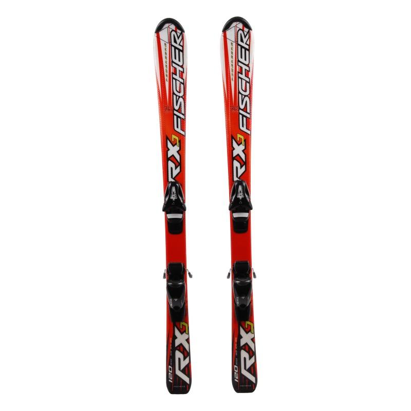 Ski occasion junior Fischer RXJ Qualité A + fixations
