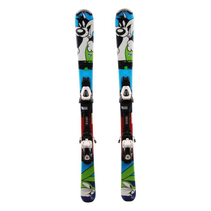 Ocasión de esquí junior Tecno pro Looney Tunes active ' fijaciones