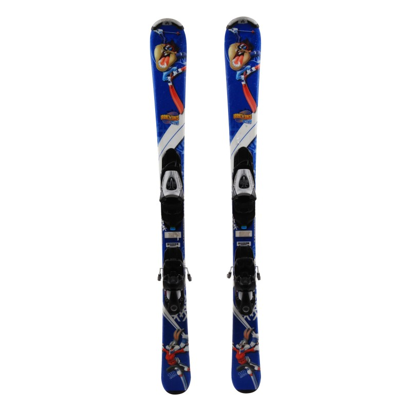 Ski occasion junior Tecno pro Looney Tunes Active Qualité A + fixations