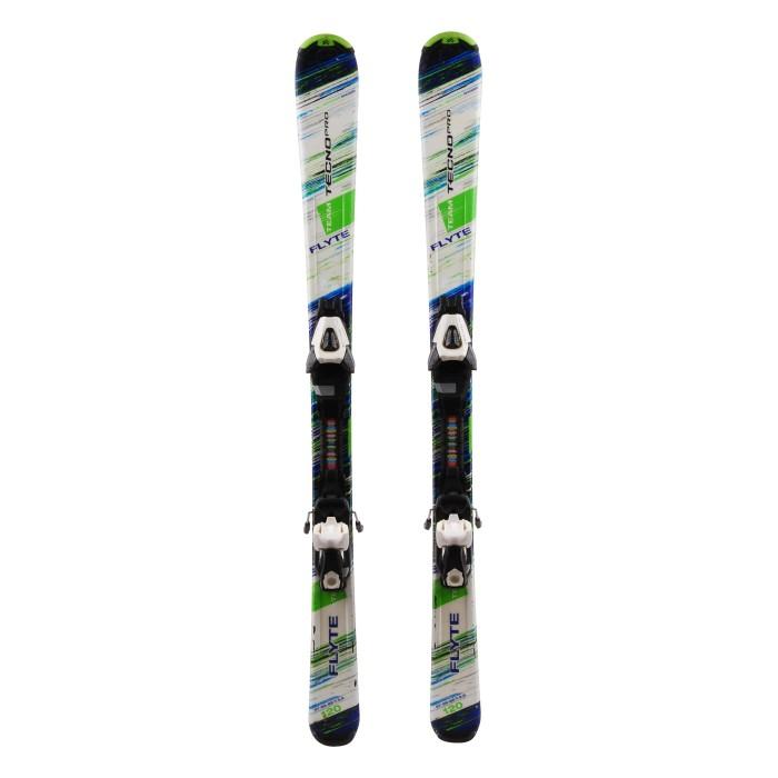 Ocasión de esquí junior Tecnopro Flyte Team - fijaciones