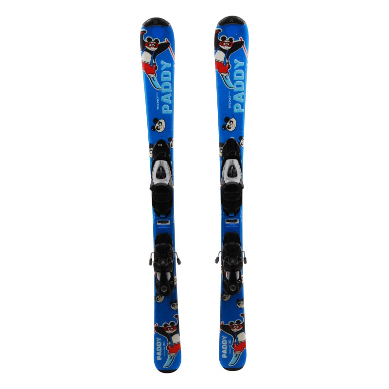 Ski occasion junior Tecno pro Paddy Qualité A + fixations