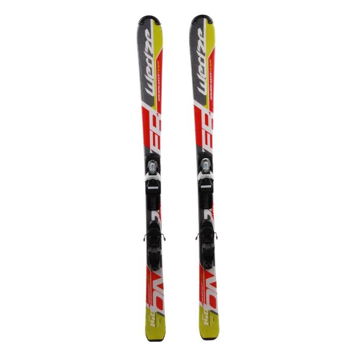 Ski occasion junior Wedze Team Onebreaker + fixations