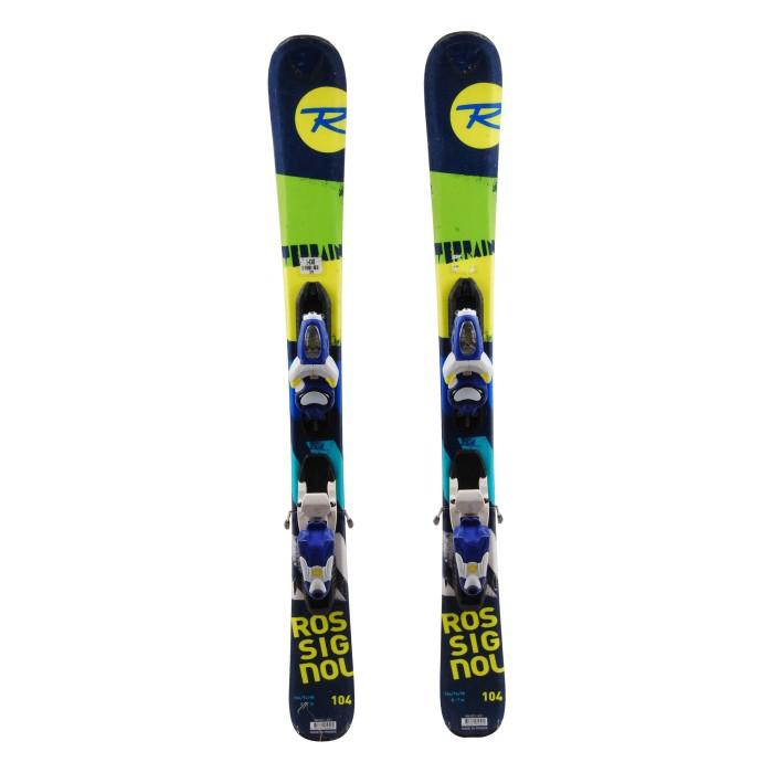 Ski occasion junior Rossignol Terrain BOY - bindings