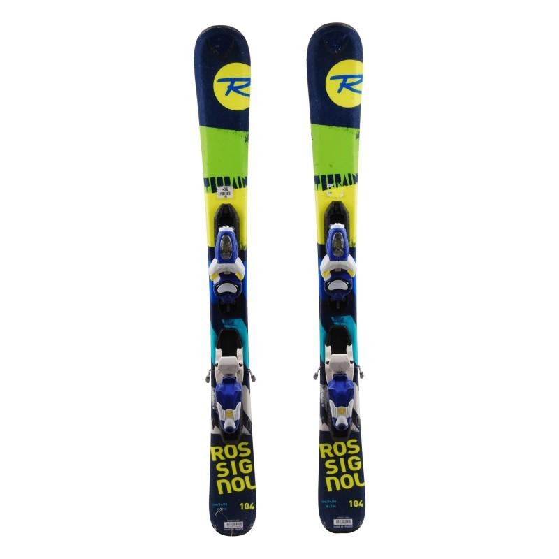 Ski occasion junior Rossignol Terrain BOY Qualité A + fixations