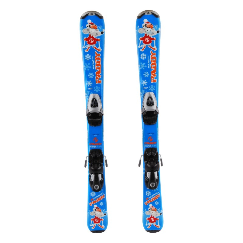 Ski occasion junior Tecno pro paddy Qualité A + fixations