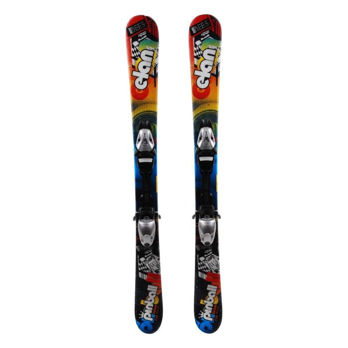 Ocasión de esquí junior Elan Pinball Team - fijaciones